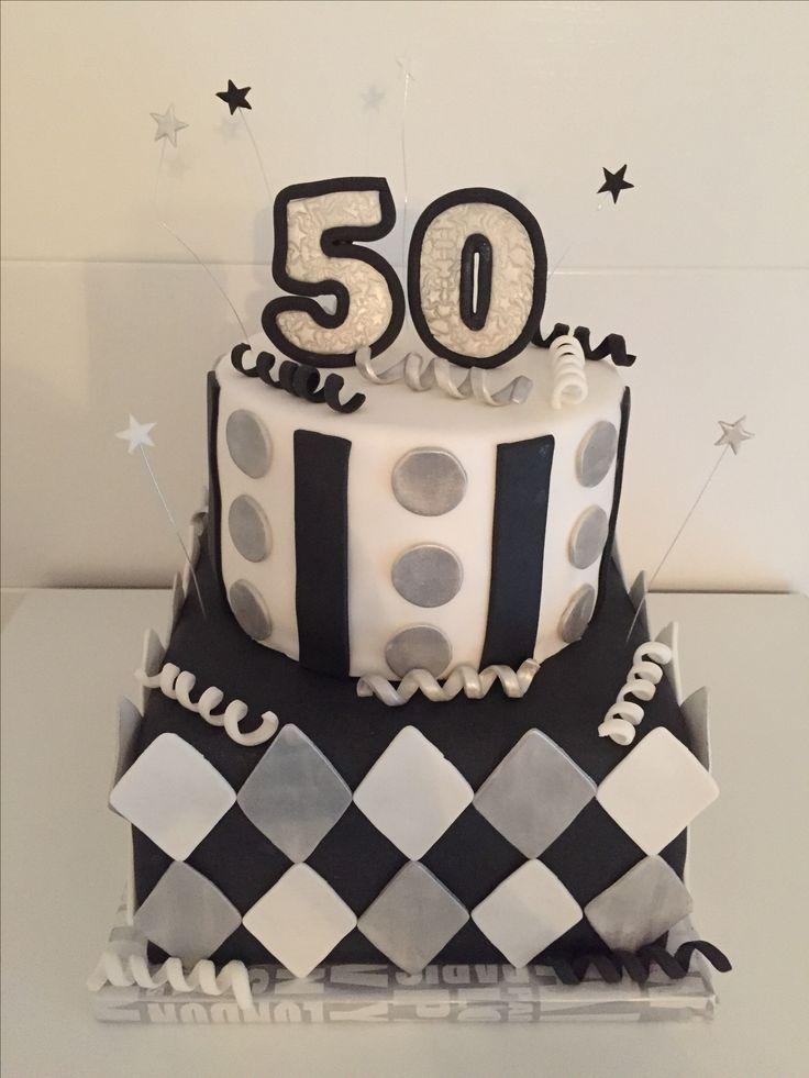 50 jaar/ abraham taart