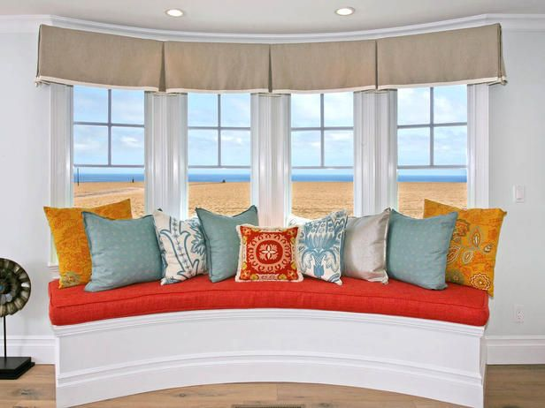 65 best images about bow window ideas on pinterest shear for Decoration fenetre bow window