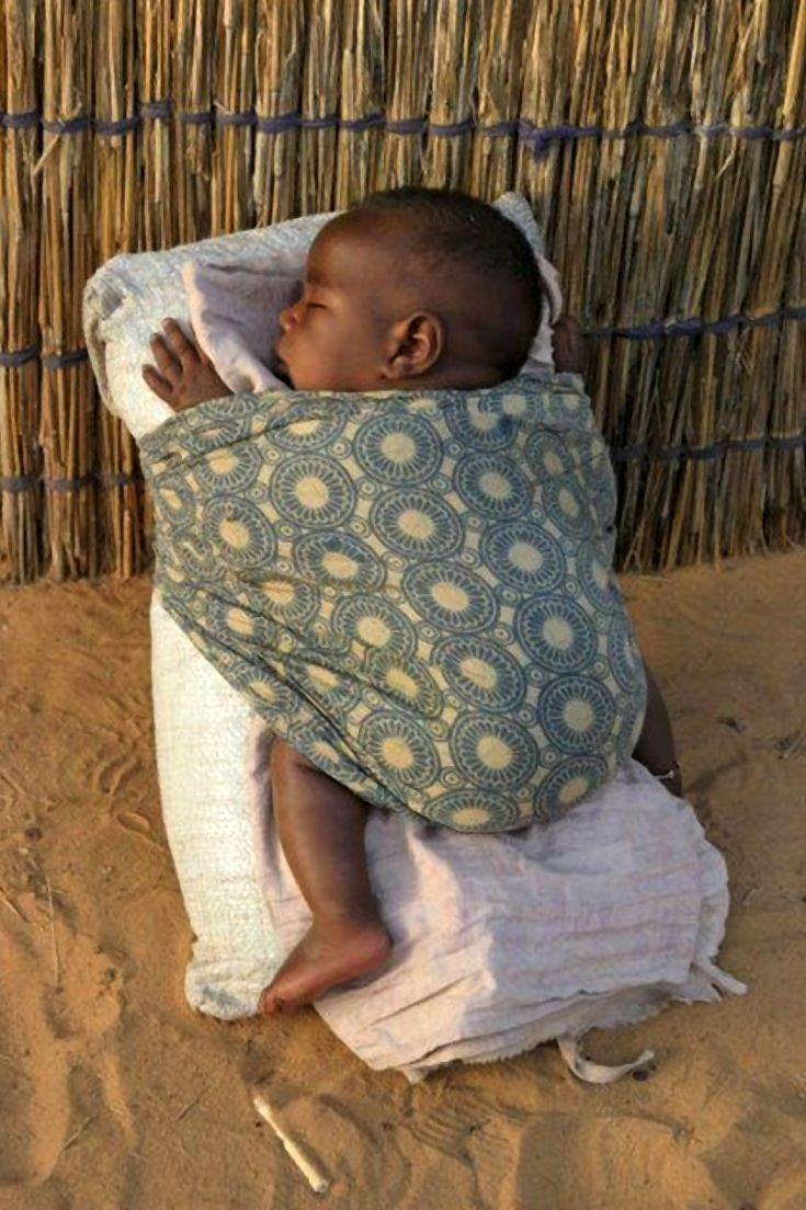 Sleeping peacefully under the African sky   Photographer unknown