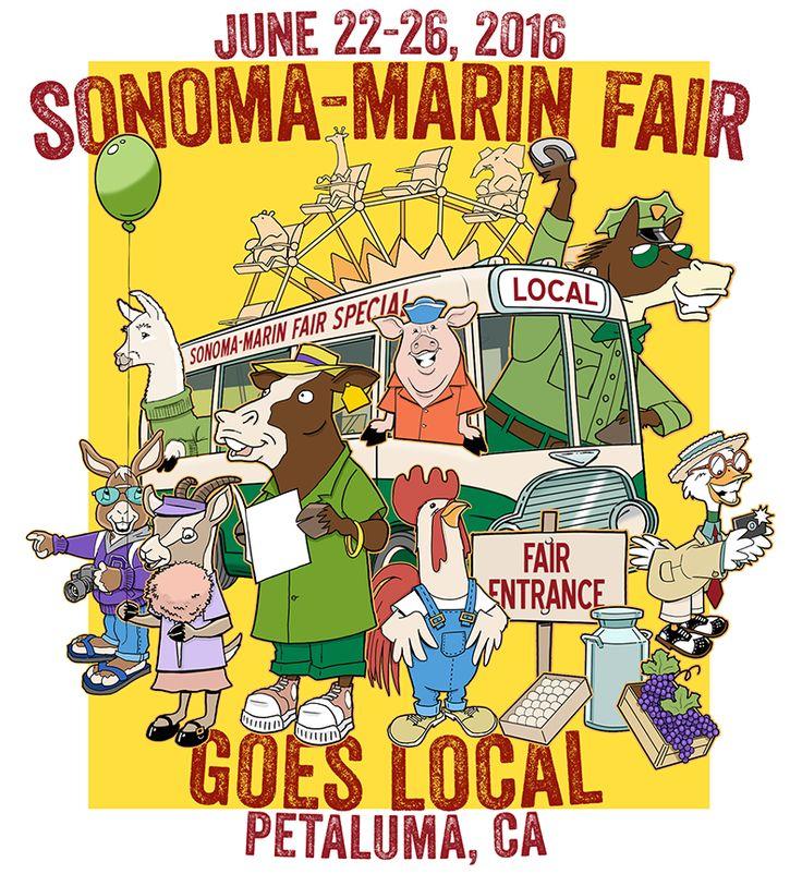 2016 Sonoma Marin Fair Poster