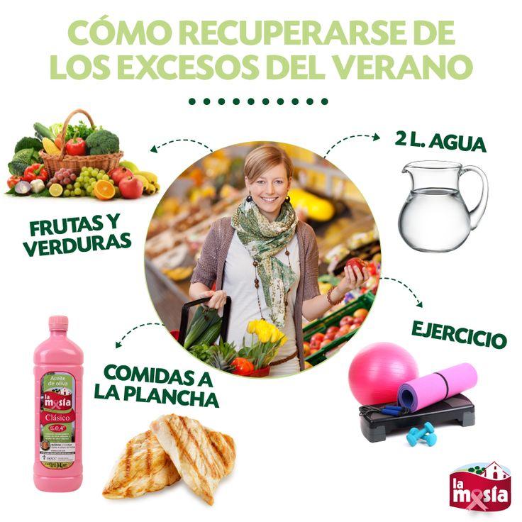 Después del #verano toca recuperarse de los excesos. Toma nota de estas recomendaciones para presumir de buena #salud. #trucosalud