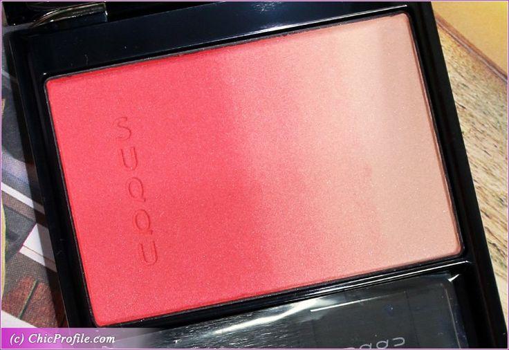 SUQQU Hanairoka Pure Color Blush Review, Swatches, Photos