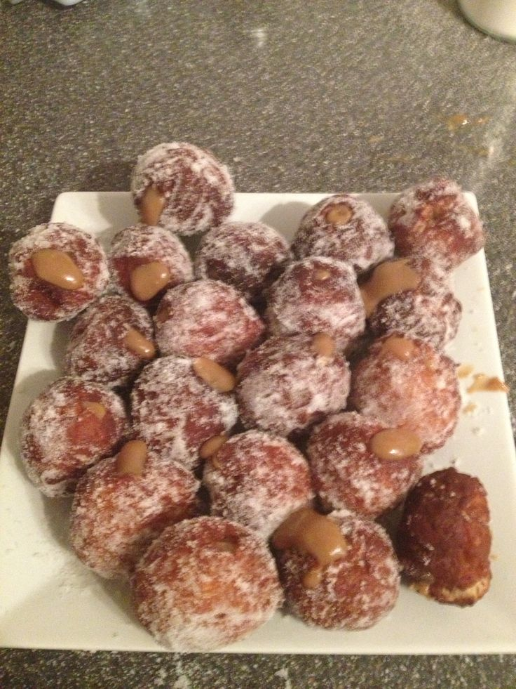Toffee Apple doughnuts