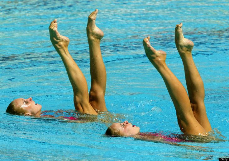 Amazing Synchronized Swimming Formations