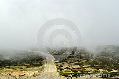 Road To The Mist Clouds Serra da Estrela - Portugal - (C) Celia Ascenso 2015