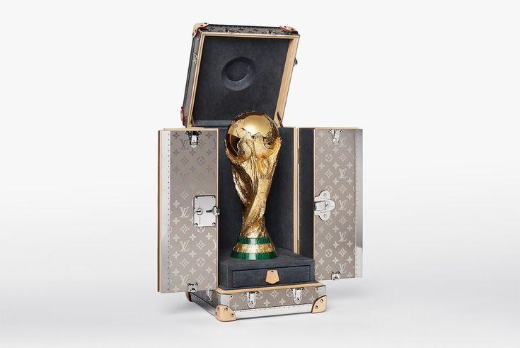 Louis Vuitton Unveils Official 2018 Fifa World Cup Trophy Case Louis Vuitton World Cup Trophy Travel Case