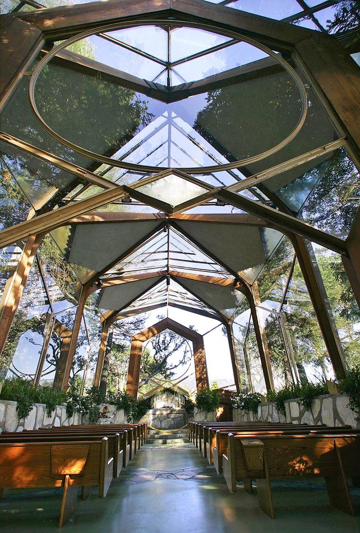 Wayfarers Chapel in Rancho Palos Verdes, California - Lloyd Wright, son of Frank Lloyd Wright