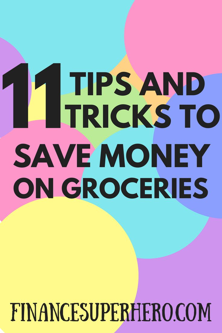 We use this 11 tips routinely to save money on groceries each month! They've helped us save hundreds of dollars every year while still eating healthy food.