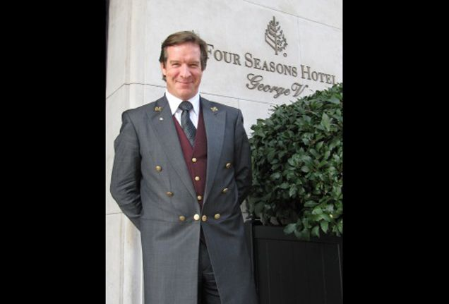 Paris insider tips  Chef Concierge Roderick Levejac from Four Seasons Hotel George V, Paris