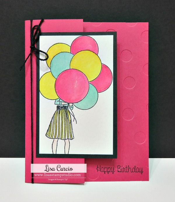 Hand Delivered Hidden Panel Birthday Card Lisa S Stamp Studio Simple Birthday Cards Fancy Fold Cards Cards Handmade