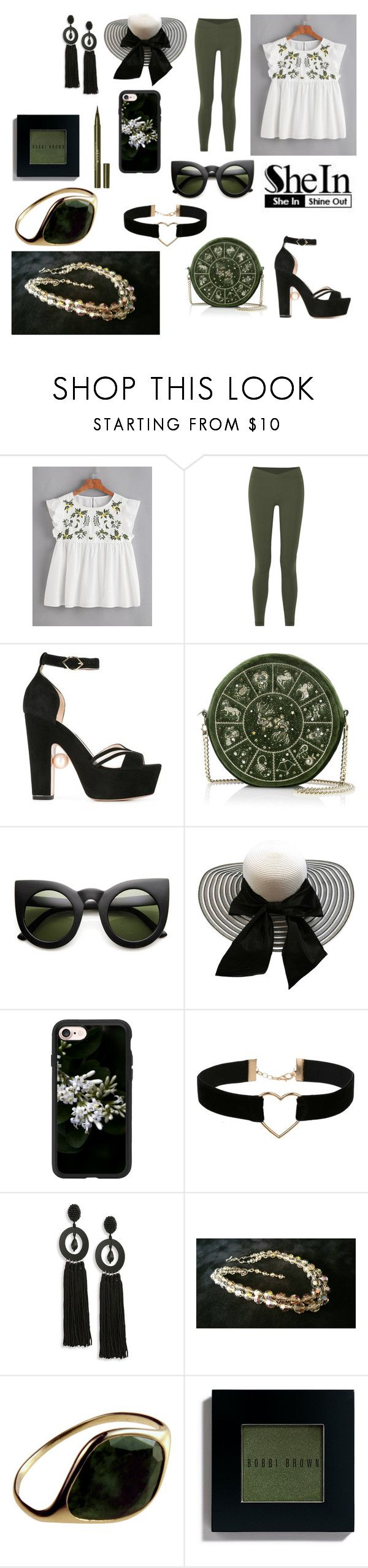 """WIN SHEIN $30 COUPON"" by giulia-ostara-re ❤ liked on Polyvore featuring Live the Process, Nicholas Kirkwood, ZeroUV, Casetify, Miss Selfridge, Oscar de la Renta, Bobbi Brown Cosmetics and Stila"