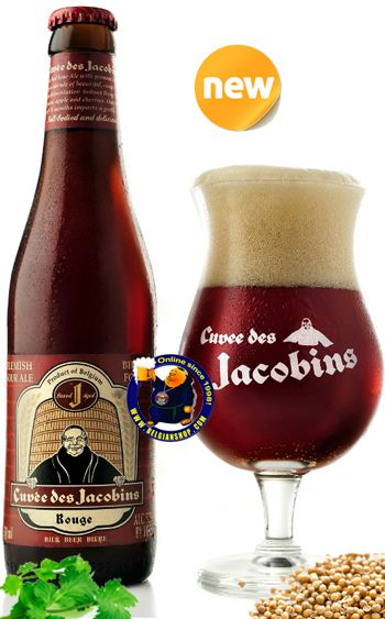 The beer Cuvée des Jacobins is unblended old lambic, aged for at least 18 months in (French) oak barrels from the cognac region. These oak barrels are called 'Foeders' in Dutch. It has a robust character but is beautiful and sophisticated with a full body and overtones of vanilla, dried cherry, stone fruit and cocoa. It is a complex, beautiful sour beer. ... Available online at : http://store.belgianshop.com/flanders-red/1434-bockor-cuvee-des-jacobins-55-13l.html
