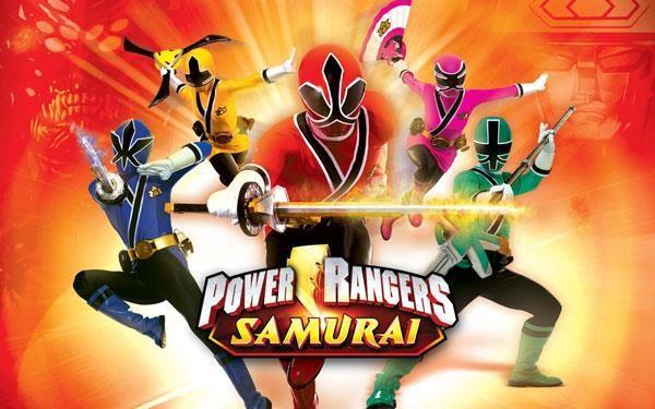 Могучие рейнджеры самураи костюм