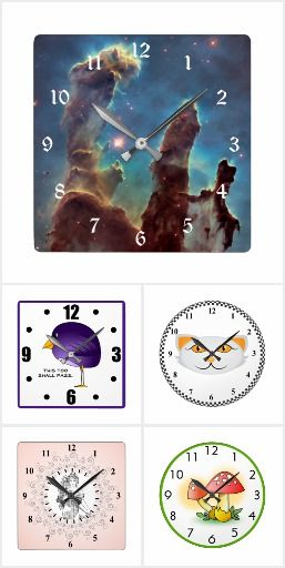 Cool Collection of Unique Personalized Clocks #UniqueClocks #Kimono #cartooncat #Lotusposition