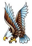 Classic Vintage Eagle Tattoo