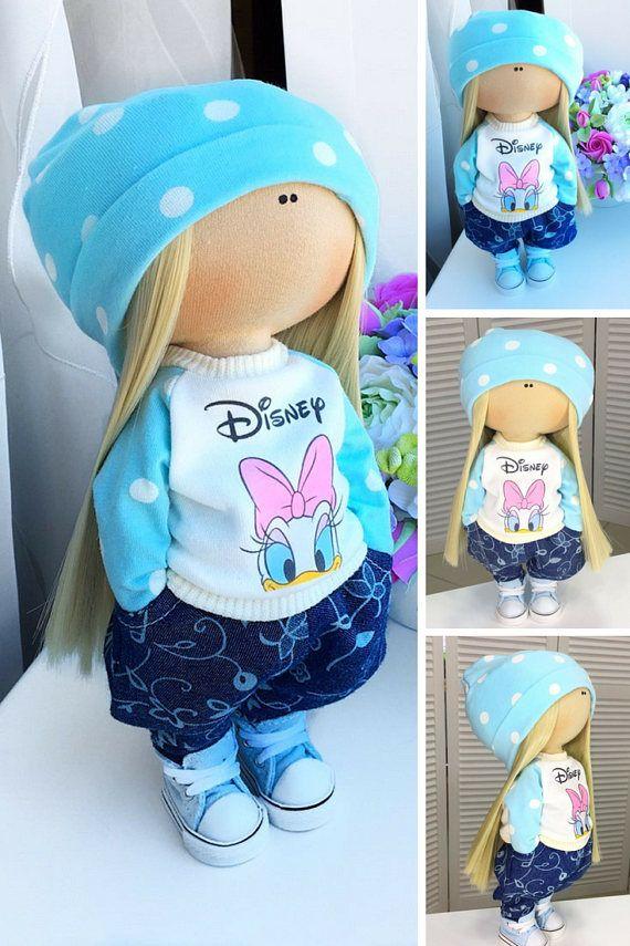 Tilda doll Interior doll Cloth doll Fabric doll Soft doll Art
