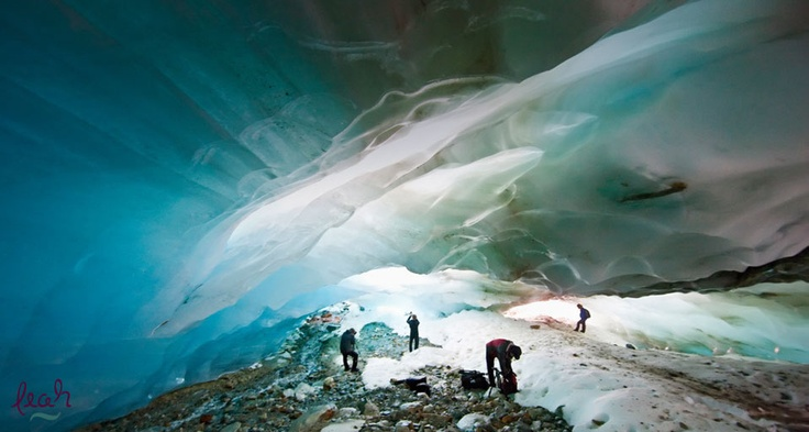 The Alvear Glacier Ice Caves, Argentina -- Science Faction/SuperStock ©