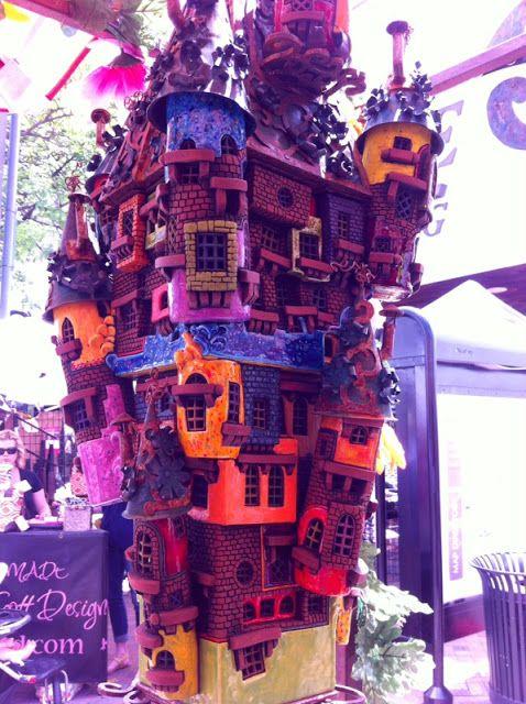 Having A Faerie House With Good Karma...Priceless! Edina Art Fair
