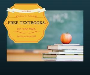 Free textbooks are available on the Web, if you know where to look. Here are ten sources for free textbooks online, for any college course.