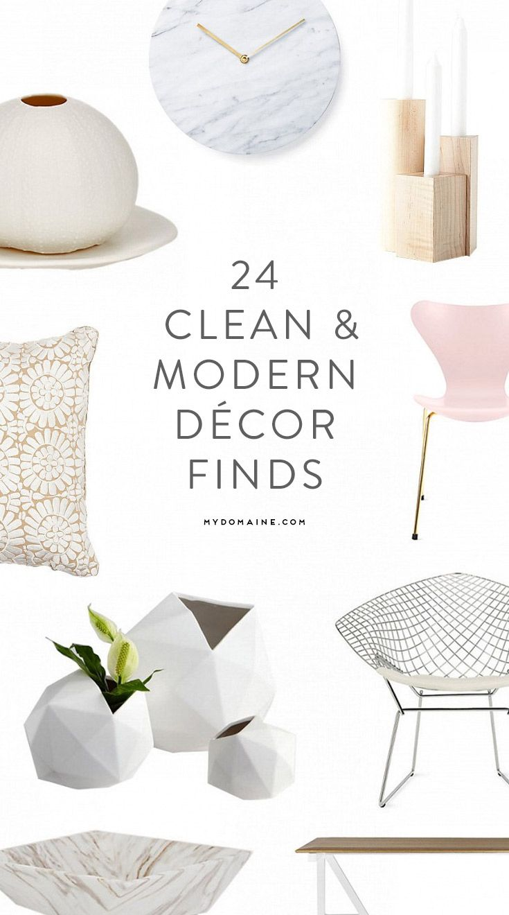 Love modern and Scandinavian décor? You're going to love everything in this roundup