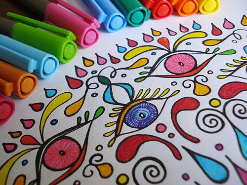 a colored mandala from my ebook of mandala coloring pages wwwart is - Html Color Sheet