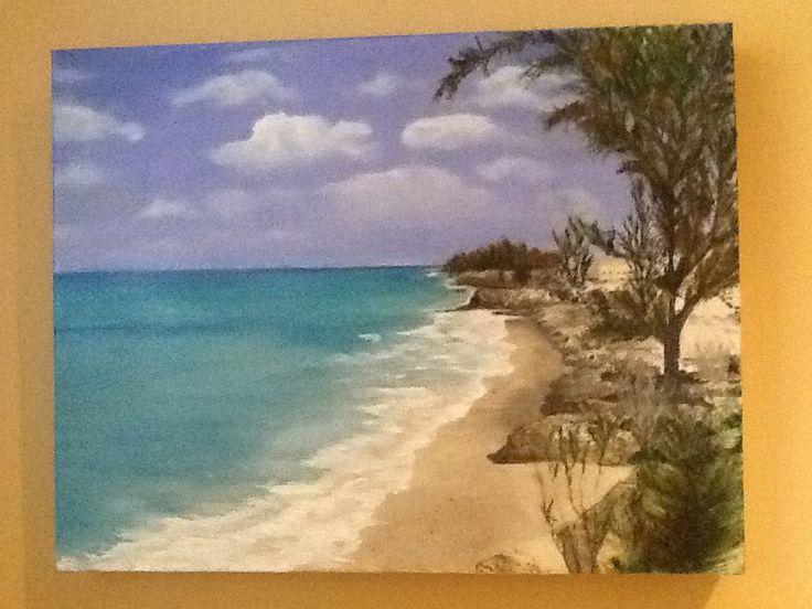 Bahamas #4 oil