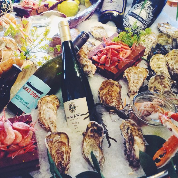 oysters and champagne in Gothenburg, Sweden, dream life