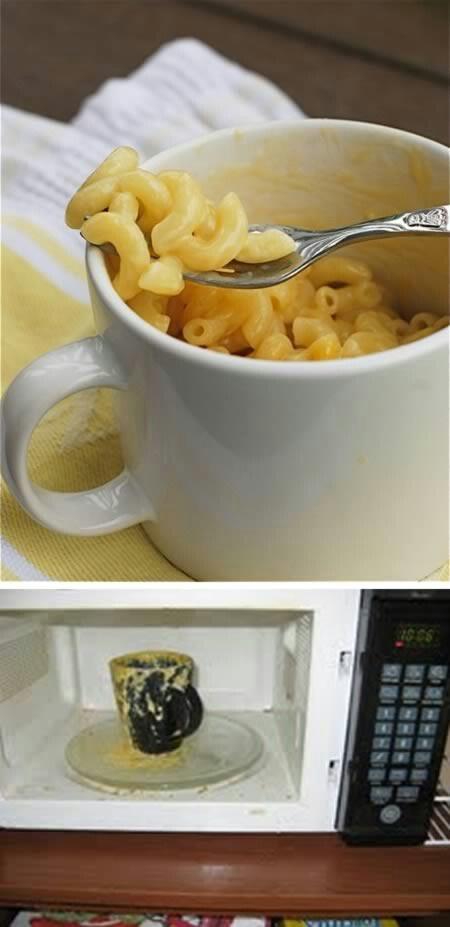 FAIL - Microwave Mac n' Cheese!