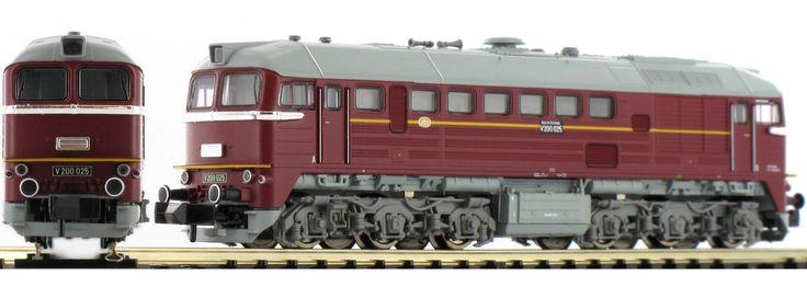 FLEISCHMANN 725207 Diesellokomotive BR V200 der DR Spur N
