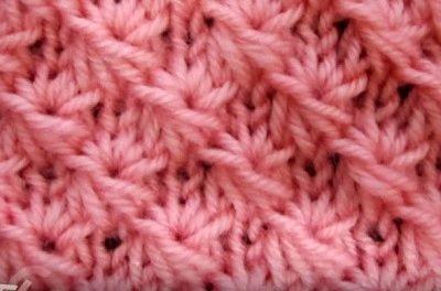 Vzor č. 50 - Kaleidoskop vzorů pro ruční pletení
