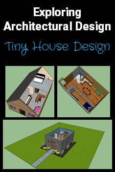 """Technology, CTE and Engineering classes are gaining in popularity at the middle school level. This fun exploration of Architecture is perfect for grades 6-8 to learn history, design and explore careers in this field through a variety of computer based projects culminating in the CAD design of a """"Tiny House"""".  https://www.teacherspayteachers.com/Product/Exploring-Architecture-Design-a-Tiny-House-1858793"""