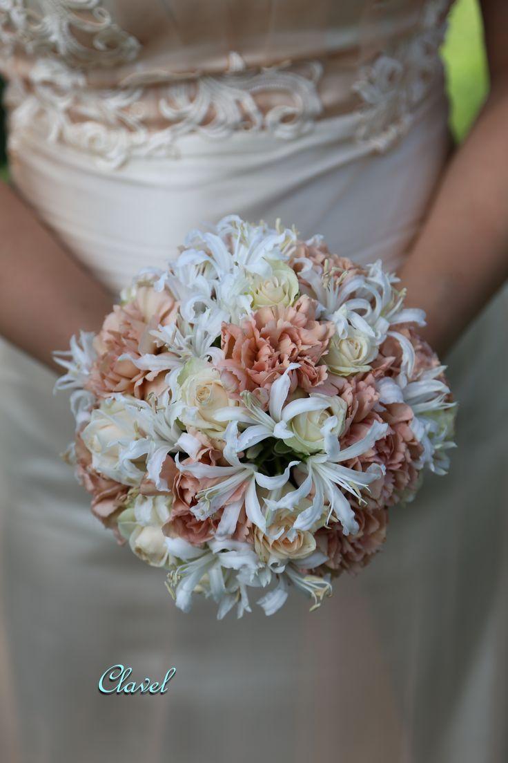 bridal bouquet, dianthus, Nerina