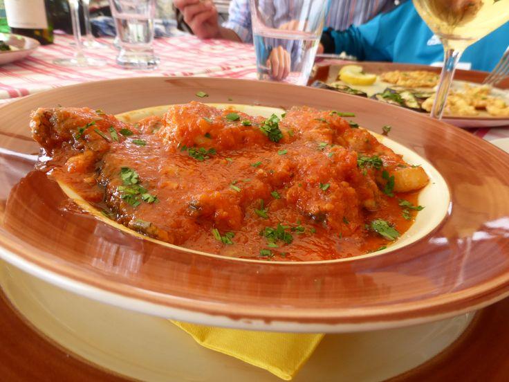 Tegamaggio fish soup.. delicious!