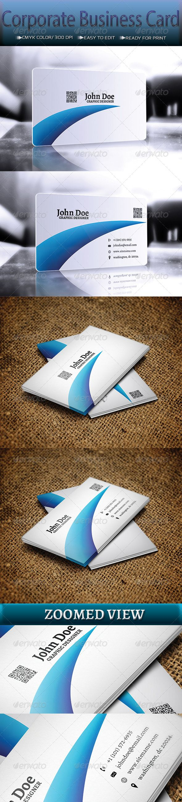 88 best print templates images on pinterest modelos de impresso corporate business card graphicriver business card features ready to print horizontal dimension 300 dpi reheart Gallery