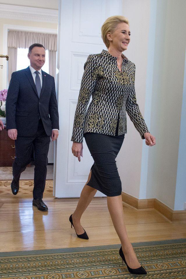 Ekskluzywne Garsonki Pierwszej Damy Agaty Dudy Sklep De Marco Fashion Style Professional