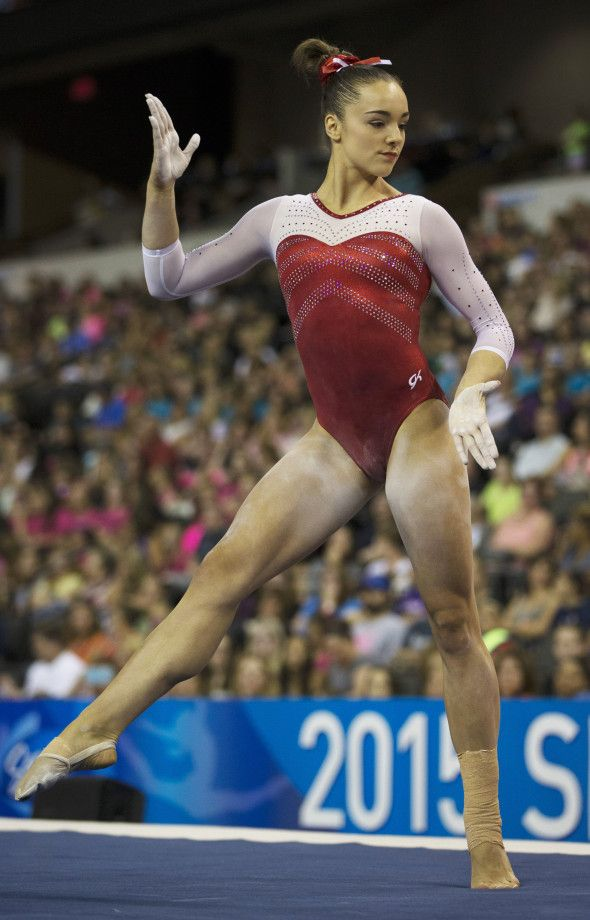 MCSMaria's Artistic Gymnastics Blog: Maggie Nichols Training Bars and Beam at…
