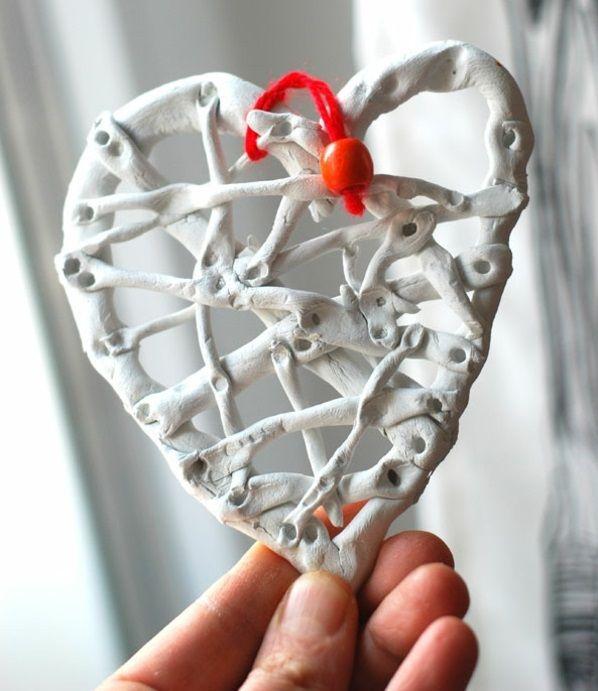 Valentinstag Geschenke Basteln Trocknen Verflechten | Kleinigkeiten |  Pinterest