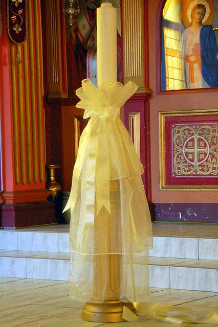 48 Best Images About Greek Orthodox Wedding Candles