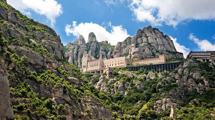 Barcelona, Spain: From Santa, Montserrat, Beautiful Places, Travel, For Barcelona, Santa Maria, Photo, Barcelona Spain, Maria