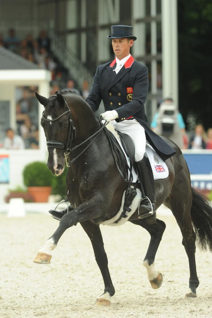 Great Britain's Carl Hester y Utopia at the Europeans - Photo: Kevin Sparrow