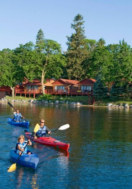 Minnesotas Detroit Lakes region keeps it old-school with wonderfully lost-in-time resorts that lure families back for generations.