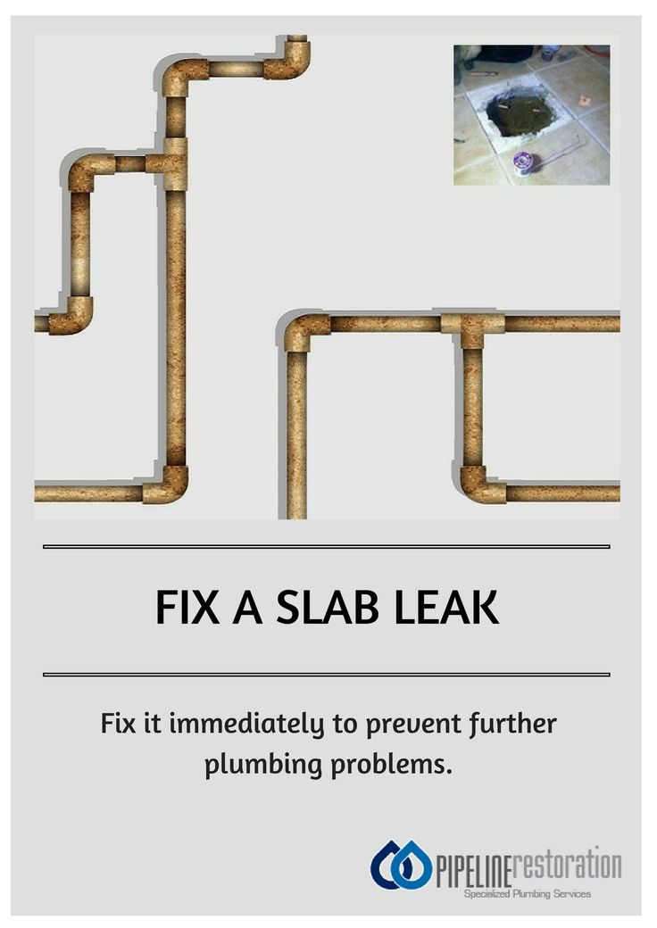 How to fix a slab leak.
