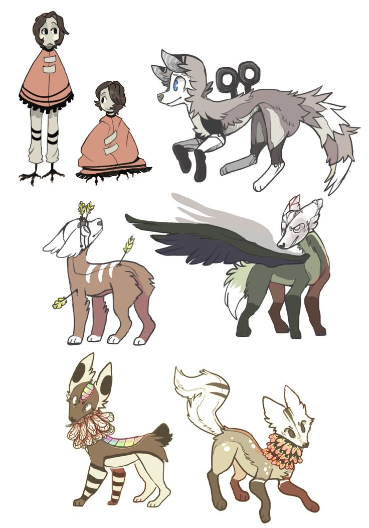 Adoptable Batch By Meritferret Lupisvulpes Art