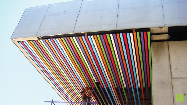 Soffit for Mall at Nilo Pecanha