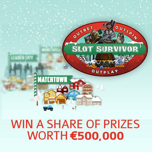 Join Major Tom Casino for festive ways to win & a share of €500 000 in prizes during Slot Survivor.