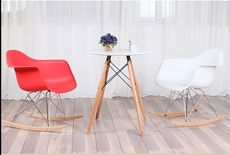 Leisure living room furniture.Plastic fashion living room chair.Balcony rocking chair.Multi color optional. 1PCS