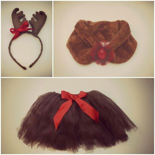 Disfraces para niños de Navidad: reno Rudolf