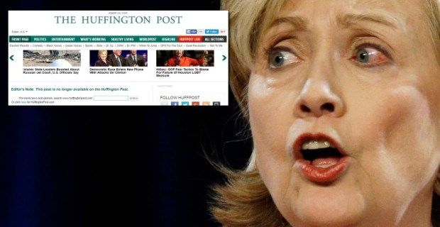 Banned by HuffPo, David Seaman calls media collusion with Hillary Clinton…