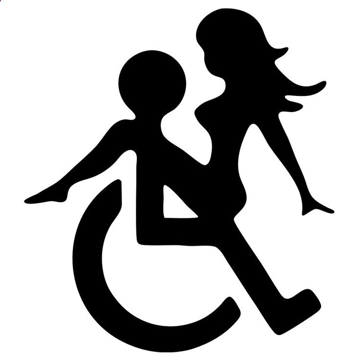 WHEELCHAIR SEX FUNNY DECALS STICKERS SUITABLE FOR CARS BIKES BOATS - Mountain Bikes For Sale