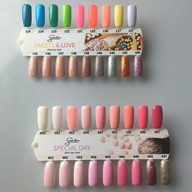 #semigirls zajrzyjcie na nasz snapchat @semilac gdzie zaproponowaliśmy Wam małą zabawę ♥️ #semilac #nails #fun #nailstagram #love…